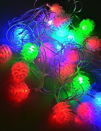 youo klight 4 m 20 led Diodo RGB Cambio de color 4 W flexible LED de tira bombilla AC100 - 240 V, RGB de Others: Amazon.es: Iluminación