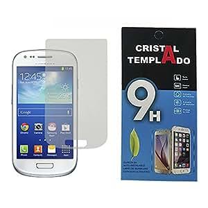 62d5d59b055 Fologar Protector de Pantalla Cristal Templado para Samsung Galaxy S3 MINI  I8190 I8200: Amazon.es: Electrónica