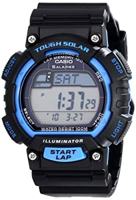 "Casio Men's STL-S100H-2AVCF ""Tough Solar"" Stainless Steel Sport Watch"