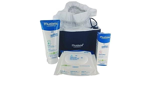 Fiesta de la vanidad del bebé cuidado 40 ml + 200 ml + 25 toallitas Mustela: Amazon.es: Salud y cuidado personal