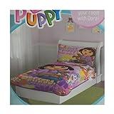 Dora perfect Puppy Toddler Bedding Set