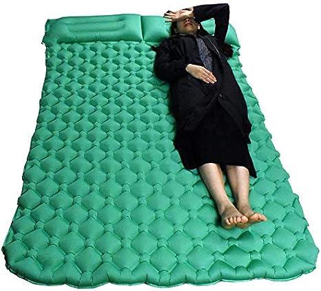 XULIYY Cojin Inflable Doble Tienda de Aire colchonetas de Camping ...