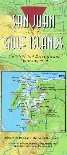 San Juan And Gulf Islands Nautical And Recreational Planning Map
