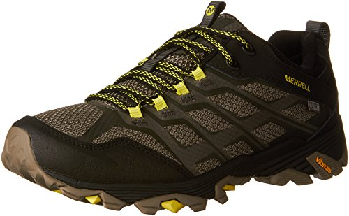 Merrell Mens Moab Fst Waterproof Hiking Shoe Olive Black