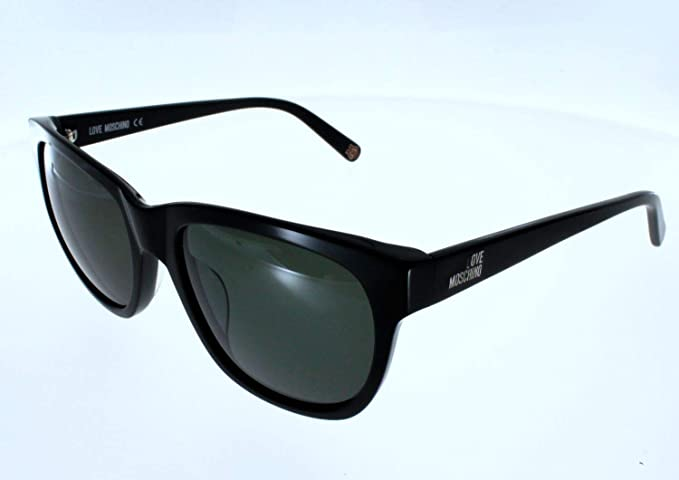 e1d8537ded LOVE MOSCHINO Women s Sunglasses Black Size  56  Amazon.co.uk  Clothing