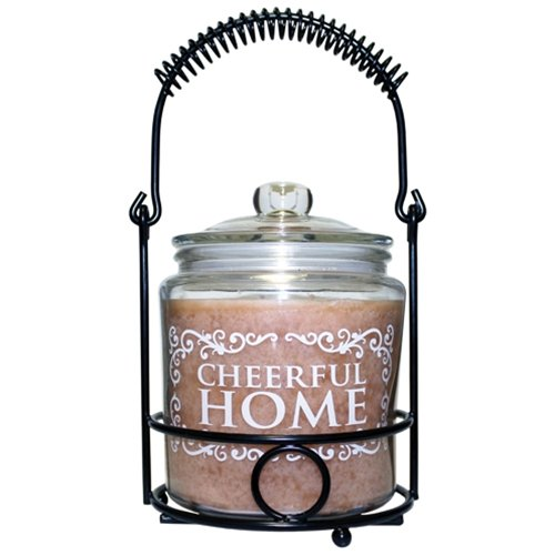 A Cheerful Giver A 26oz Cheerful Home Gourmet Sugar Cookie jar Candle, 26 oz Pink