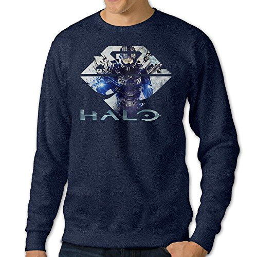 Boys The Master Chief Of Halo 5 O-Neck Hooded Sweatshirt (Singlet Pattern)