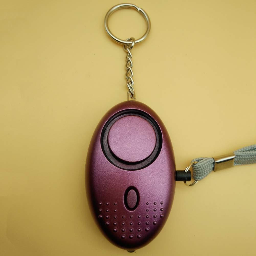 Leezo Personal Alarm Keychain 130db Alarm Polizei genehmigt Mini Laut Sicherheit Sicherheit Panik Angriff Alarm Schl/üsselanh/änger mit Taschenlampe f/ür Frauen Kinder /ältere M/ädchen Abenteurer