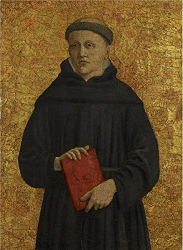 [The High Quality Polyster Canvas Of Oil Painting 'Piero Della Francesca - Augustinian Monk, 1454-69' ,size: 10x14 Inch / 25x35 Cm ,this Imitations Art DecorativeCanvas Prints Is Fit For Nursery Gallery Art And Home Decor And] (Jenny From The Block Costume)