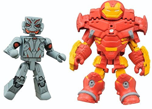 Marvel Minimates Avengers Assemble Animated Series 2-Pack Exclusive Hulkbuster Iron Man and Ultron Figures