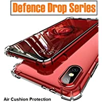 Amozo - Redmi Note 7 Cover/Note 7 Pro Cover and Case - Air Cushion Corner Drop Protection Soft Transparent with Screen and Camera Protection Back Case Cover for Xiaomi Redmi Note 7 / Note 7 Pro