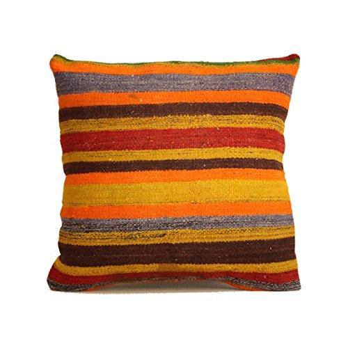 Amazon Kilim Pillow 40x40 Kilim Pillow Cover Turkish Pillow Unique Turkish Kilim Pouf
