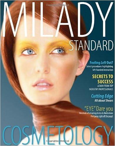 Milady standard cosmetology 2012 miladys standard cosmetology milady standard cosmetology 2012 miladys standard cosmetology 12th edition fandeluxe Gallery