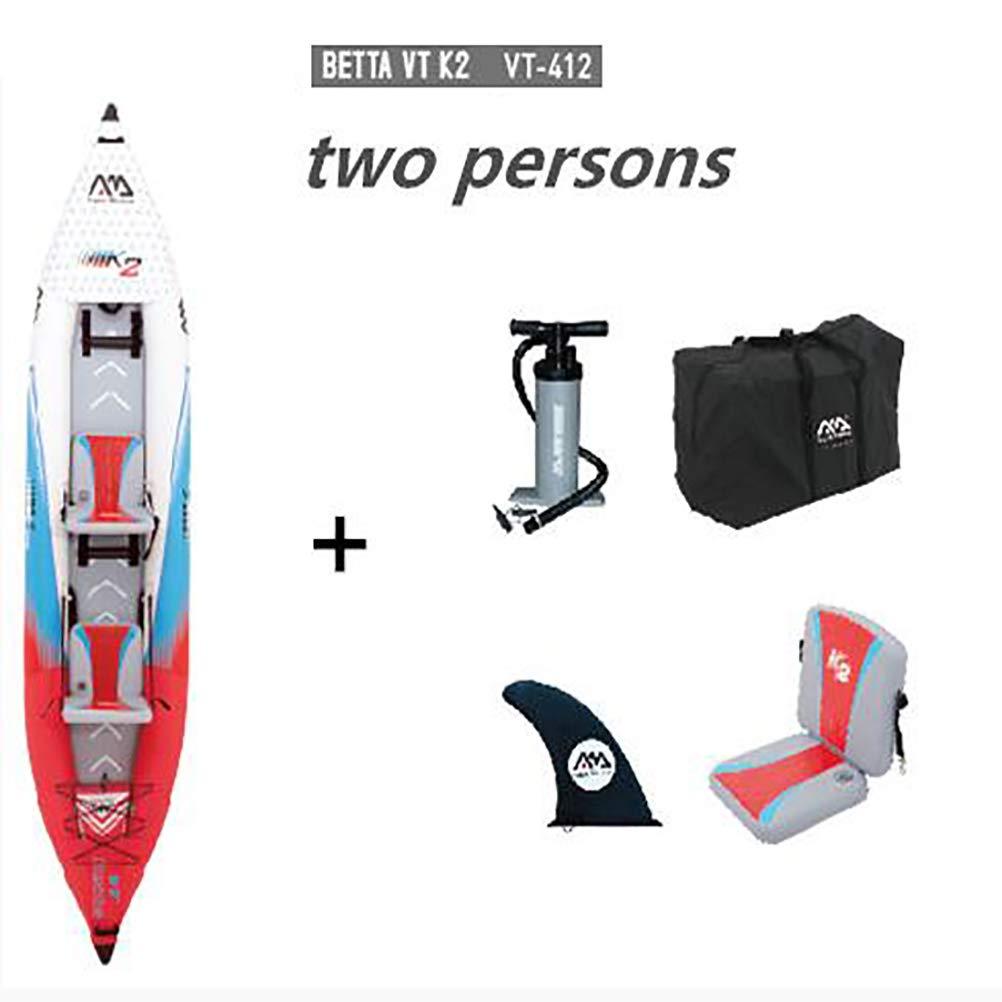 BDS Tabla Inflable de Remo 2 en 1 para Dos Personas, Kayak y ...