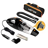HOTOR Car Vacuum, Corded Car Vacuum Cleaner High Power for Quick...