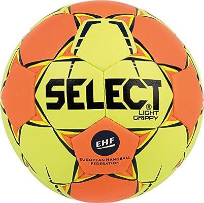 SELECT Light Grippy Balón de Balonmano, Infantil, Amarillo/Naranja ...