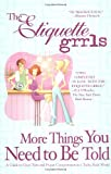 More Things You Need To be Told, Lesley Carlin and Honore McDonough Ervin, 0425190188