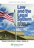 Law and the Legal System, Thomas R. Van Dervort and David L. Hudson, 0735508704