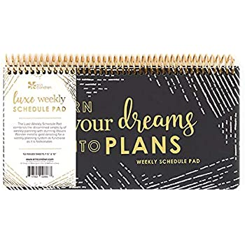 Amazon.com : Weekly Planners Pad - Weekly and Daily Planning ...
