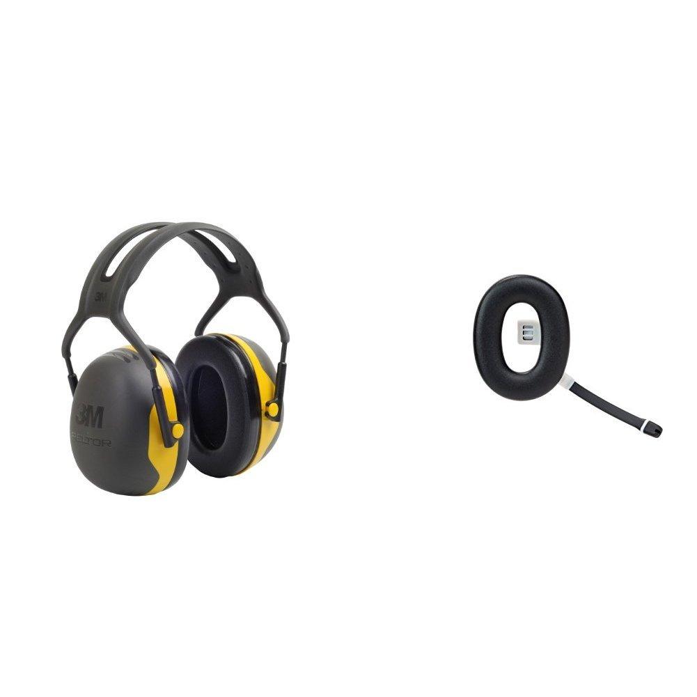 3M Peltor Kapselgeh/örschutz X2A Kopfb/ügel SNR 31 dB schwarz und gelb