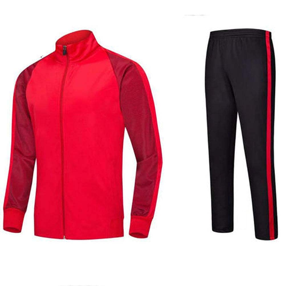 Man Tracksuit Suit Sets Sweater Jacket Top Pants Trousers Sport Wear Veste