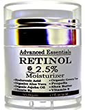 Retinol Moisturizer Cream for Face and Eye Area with Hyaluronic Acid, vitamin E , B5 and Green Tea. Potent Anti Aging Formula, Stimulates Collagen for firmer, smoother, wrinkle-free skin. 1.7oz For Sale