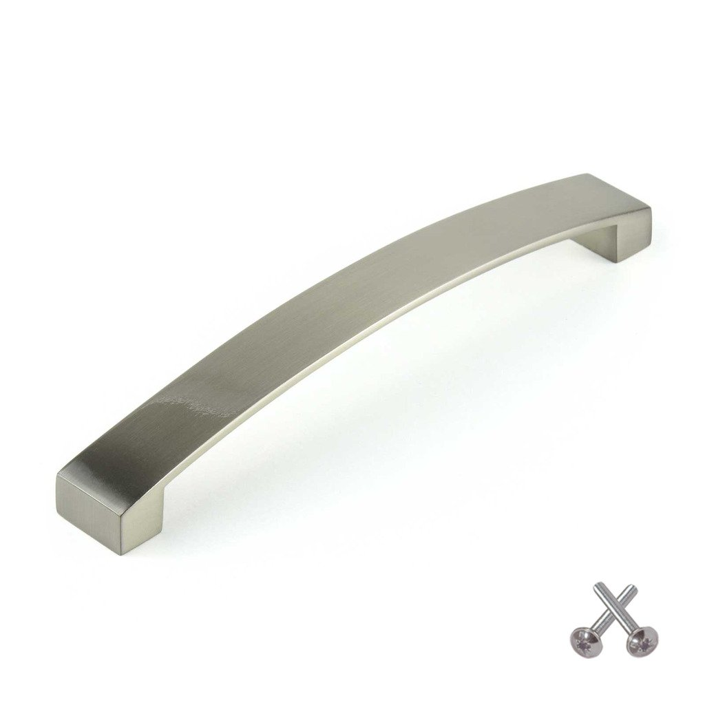 m bar kitchen cabinet door handle cupboard drawer bedroom m bar kitchen cabinet door handle cupboard drawer bedroom furniture handles brushed steel 160mm amazon co uk kitchen home
