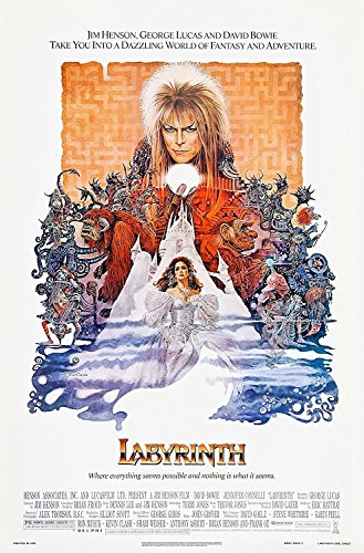 Labyrinth (1986) Movie Poster 24x36, used for sale  Delivered anywhere in USA