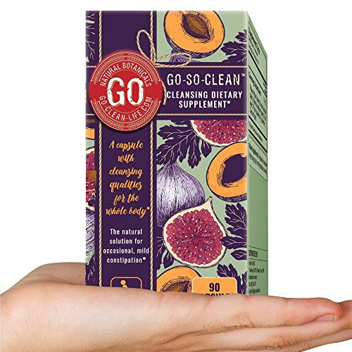 Go-So-Clean: Natural Solution Colon Cleanser for Constipation and Regular Bowel Movement