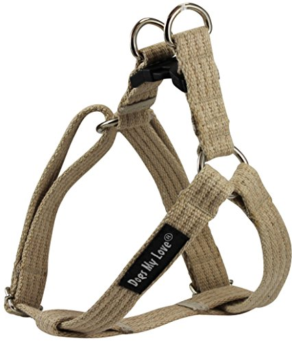 organic-cotton-web-adjustable-dog-step-in-harness-4-sizes-beige-small-8-135-chest-5-8-wide