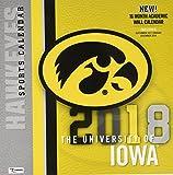 The University of Iowa Hawkeyes 2018 Calendar