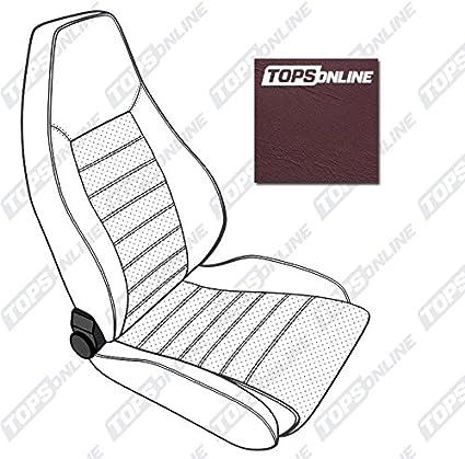 TopsOnline 1974 thru 1984 Porsche 911, 912, Carrera & Turbo, Replacement Leather Seat