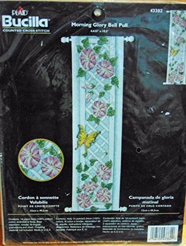 - Morning Glory Bell Pull Counted Cross Stitch Kit 43382