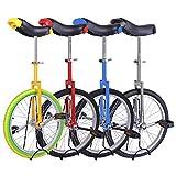 """Kobe Unicycle with Aluminum Wheel Rim 24"""" Blue"""