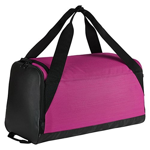 Nike Brasilia (Small) Training Duffel Bag (Pink/Black/White)