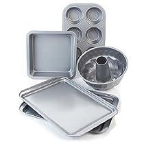 Wolfgang Puck Bistro Elite 5 piece Non-Stick Bakeware Set Cookware