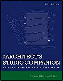 The architect 39 s studio companion rules of for 5th studio architects