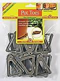 IGC Cartanna Plantstand PT-12CHHT 12-Pack Dark Gray Pot toes