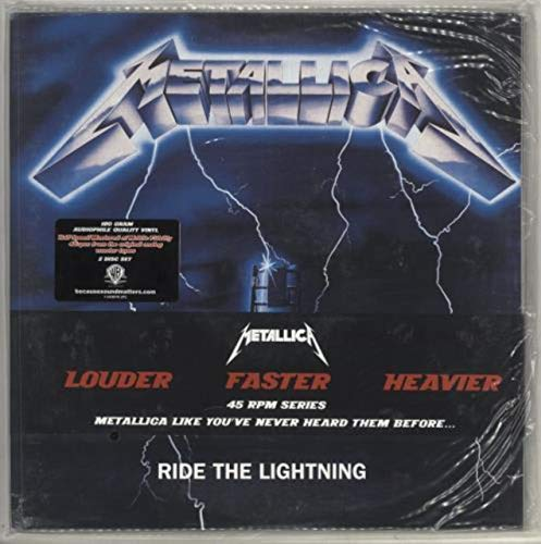 How to buy the best metallica lp 45 rpm?