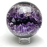Amethyst Geode Agate Sphere