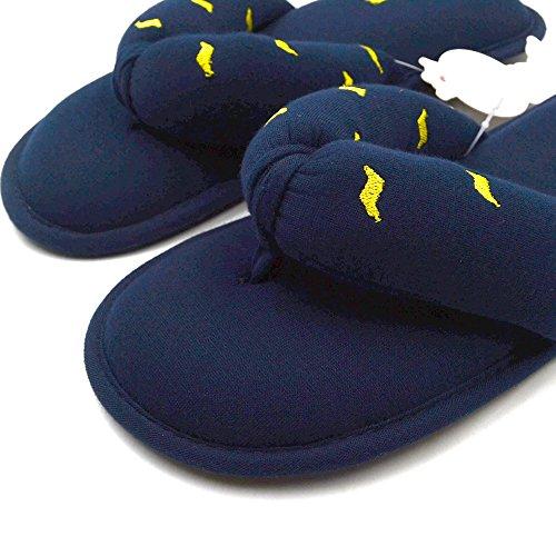 Chaussons pour Bleu Femme Millffy Marine 4SOHqq