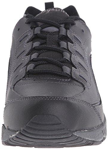 Romper Sneaker Zwart / Donkergrijs Leer