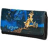 Loungefly Star Wars Luke & Leia Tri-Fold Wallet