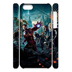 The Avengers SANDY0007926 3D Art Print Design Phone Back Case Customized Hard Shell Protection Iphone 5C