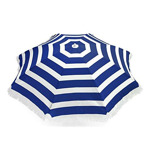 Large Cabana Stripe Beach Umbrella