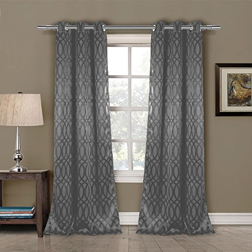 Duck Curtain Panel - Duck River Textiles TAYLA 4661=12 Blackout Grommet (2 Piece), 36