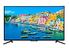 Take in the scenery as 8 million pixels illuminate a world of endless color and stunning detail. Sceptre 4K Ultra High-Definition displays have 4 times the number of pixels as a Full HD display, turning your shows into an epic UHD viewing exp...