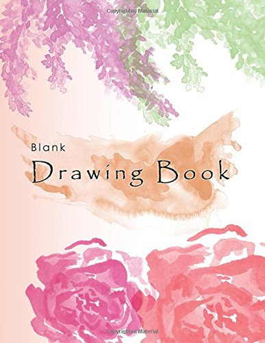 """Download Blank Drawing Book: 8.5"""" x 11"""" Large, 150 Pages White Paper Art Sketchbook (Blank Drawing Books) (Volume 1) pdf"""
