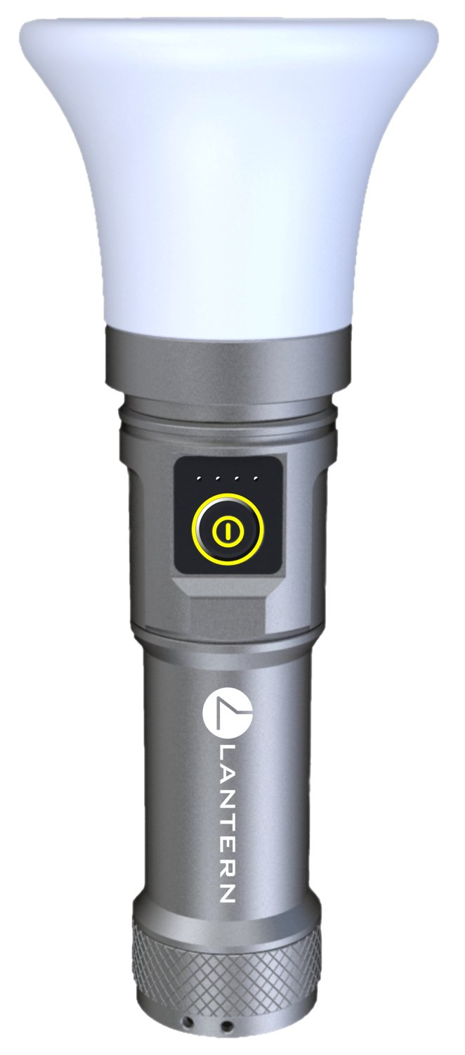 LANTERN Platinum +: The Ultimate Multifunctional Light! 1000 lumen, USB rechargeable lantern flashlight with 90 hour USB battery backup and 360 bike mount. Charge any device, iPhone, Go Pros, Android. by Lantern (Image #1)
