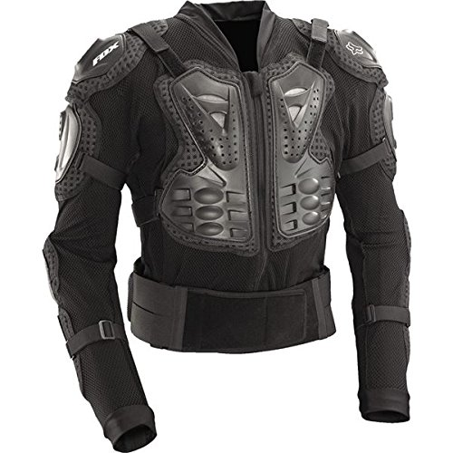 Body Armor Full (Fox Racing Titan Sport Protective MTB Jacket (Black, Large))